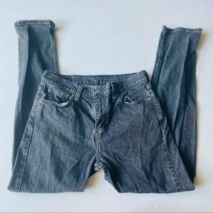 Levi's Vintage High Waist Gray Jeans 30 Waist